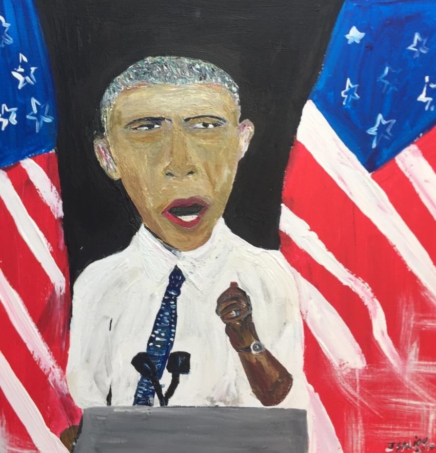 Barack Obama por jeromesaliouart
